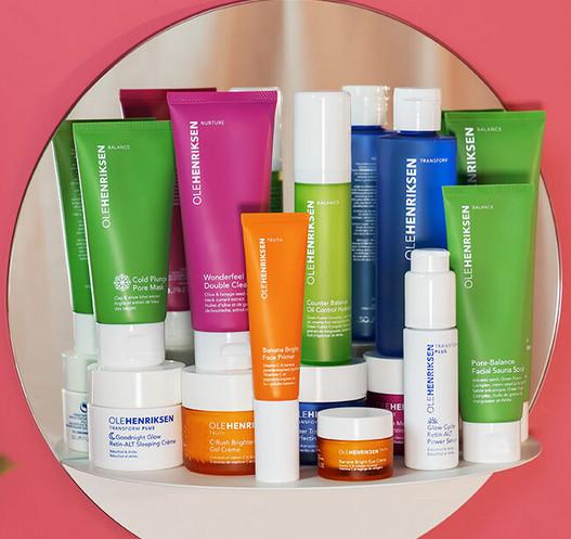 Ole hendricksen skin care products