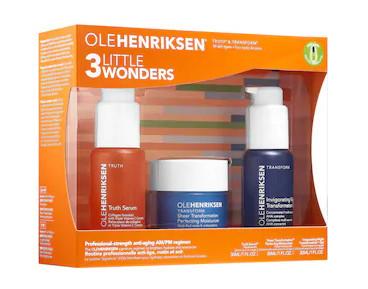 ole hendricksen skin care products - 3 little wonders