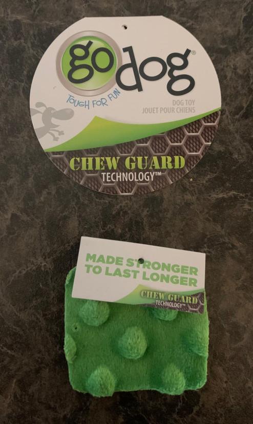 goDog chew guard toys technology