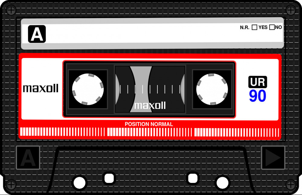 funny things from the 80s - mixed tape