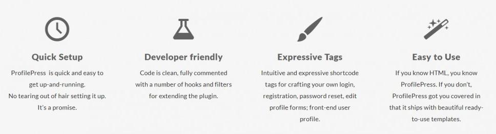ProfilePress plugin setting up