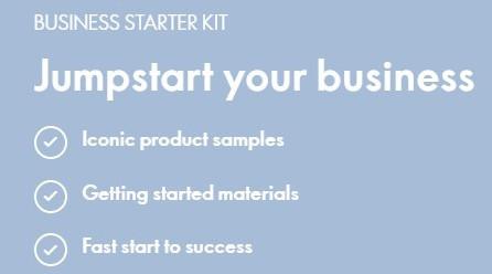 Oriflame business starter kit
