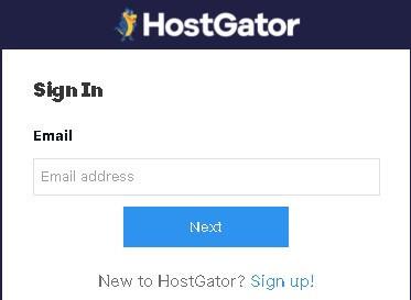 Sign up with Hostgator to buy hosting with Hostgator