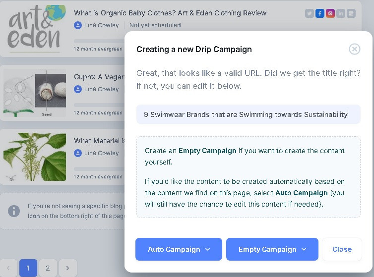 Drip campaign is created with what is the best social media marketing software