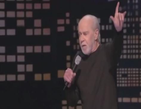 George Carlin's - I am a modern man