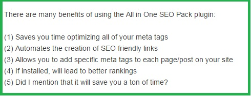 What to Do With the Meta Tags in All In One SEO Pack