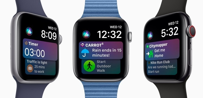 Siri is on Apple Watch Series 4
