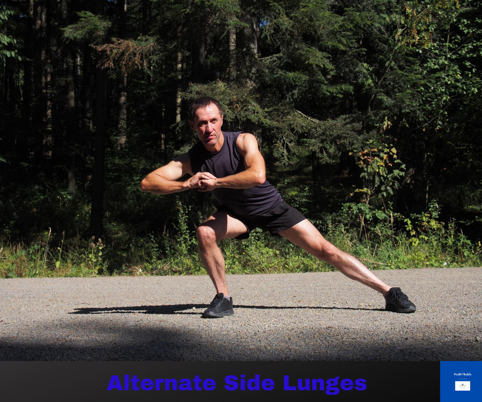 Alternate Side Lunges