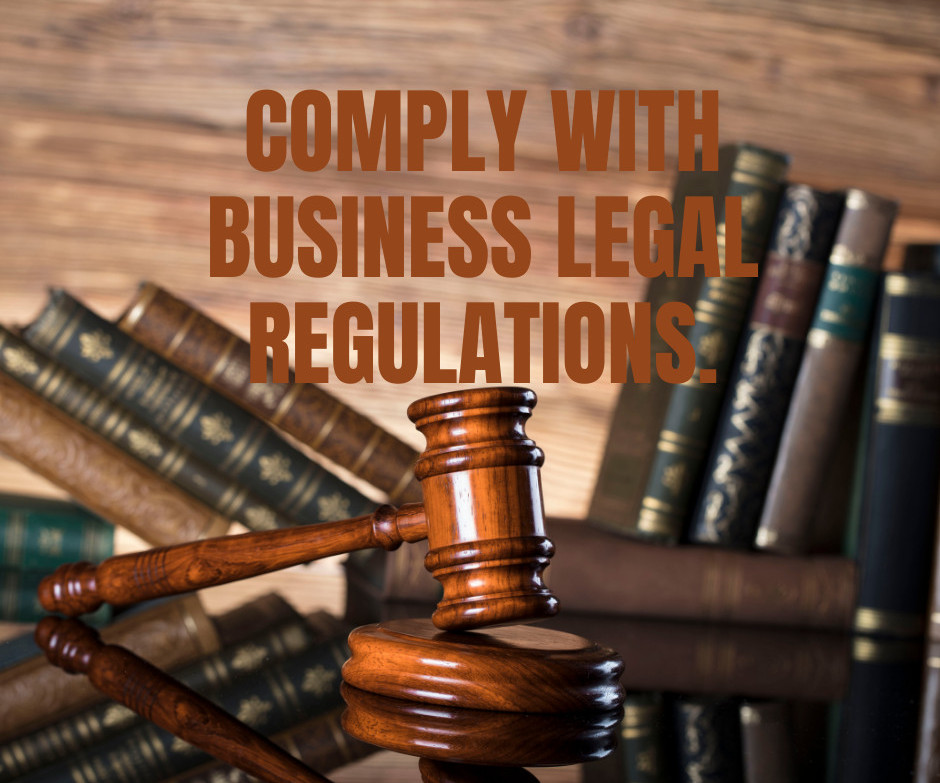 Comply Legal Regulations