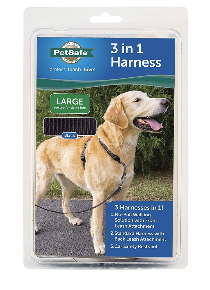 PetSafe 3 in 1 Dog Harness in Packaging