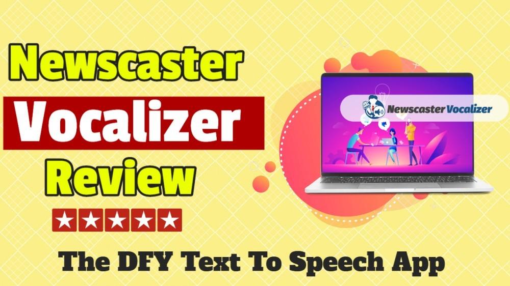 newscaster vocalizer review