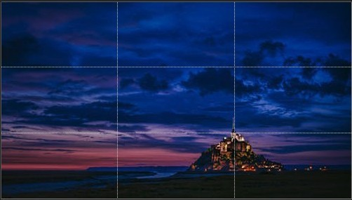 gridlines photography dslr camera