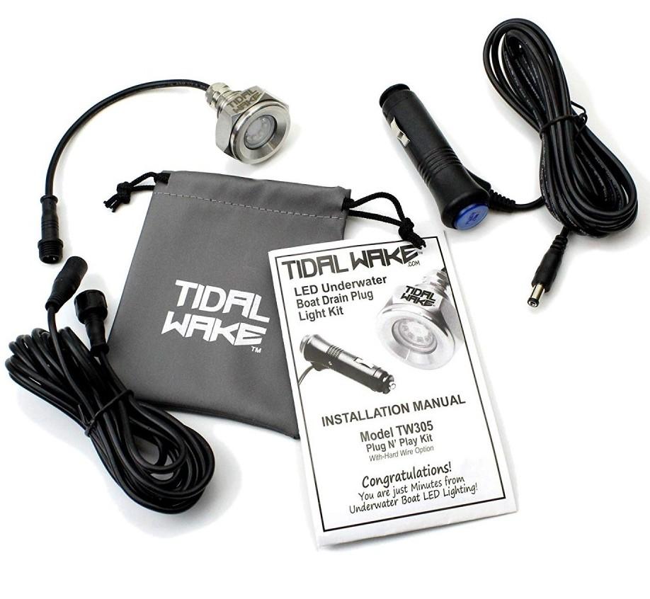 Tidal Wake Drain Plug Light