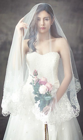 wedding dress for the bride
