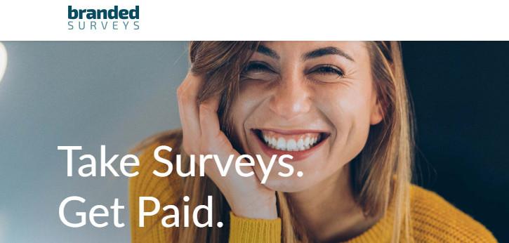 Online surveys that pay money-An image of branded surveys