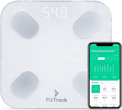 The Fittrack smart scale review-An image of the Fittrack Dara