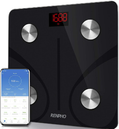 Body fat scales and accuracy-An image of a Renpho body fat scale