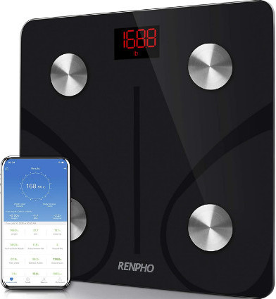 The Renpho body fat scale review-A picture of the scale