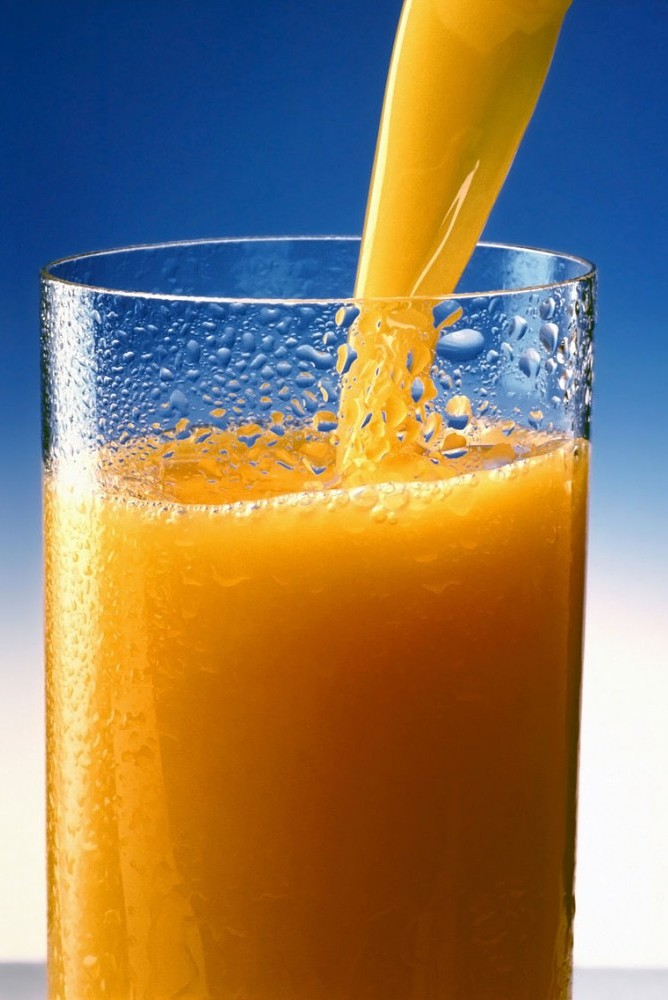 food for flutists - orange juice