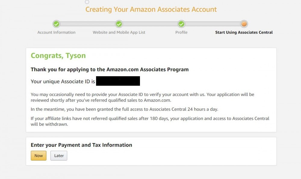 amazon associate 7