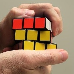 everything takes practice like this Rubix-cube