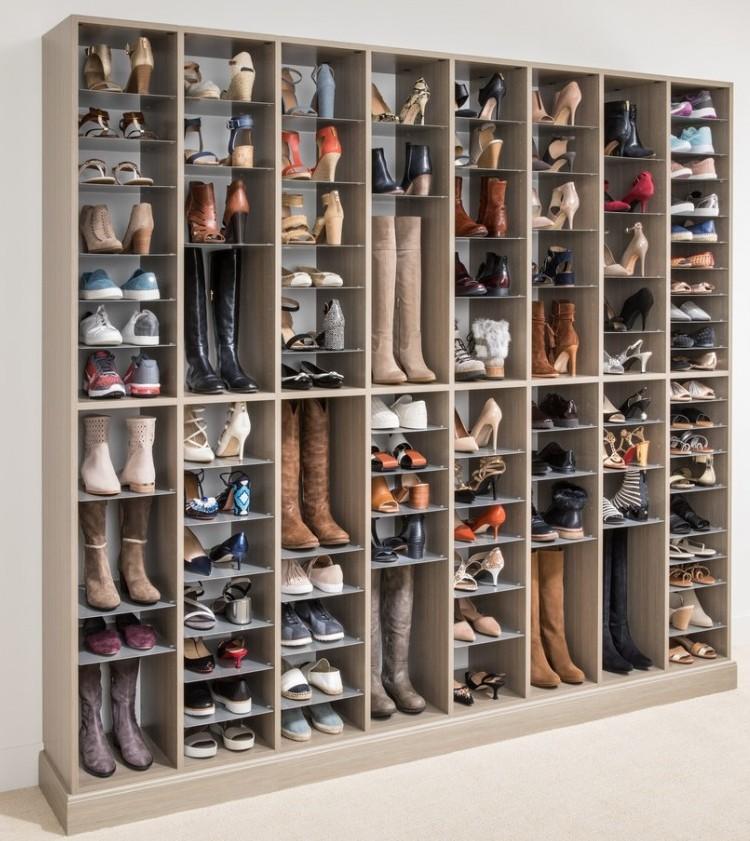 easy closets shoe organizer