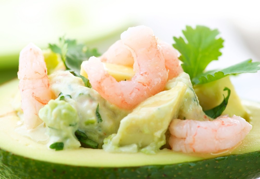 delicious avocado and shrimp salad recipe