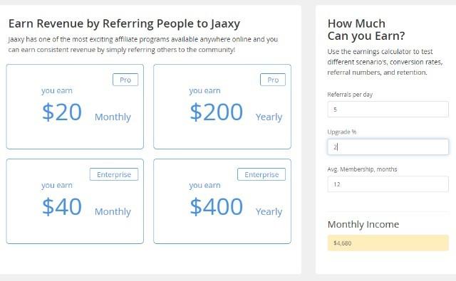 Jaaxy's Affiliate Program