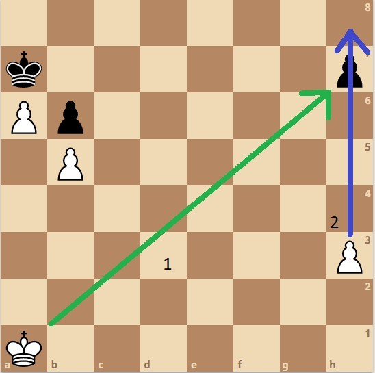King activity in the endgame