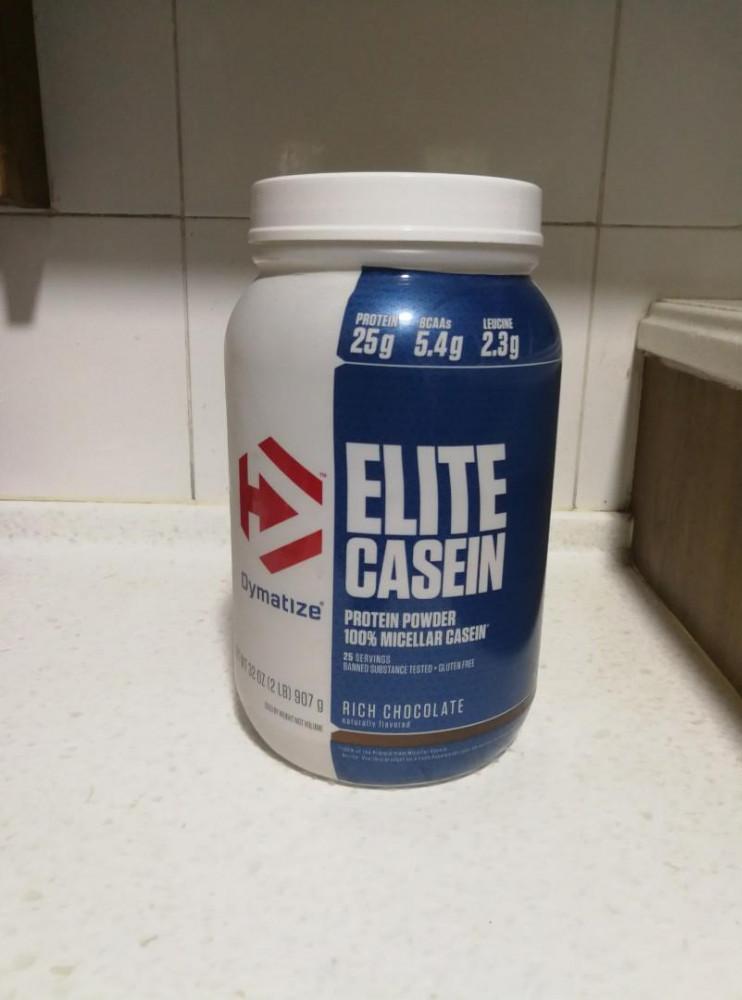 Dymatize Elite Casein Protein Review - Protein While You Sleep
