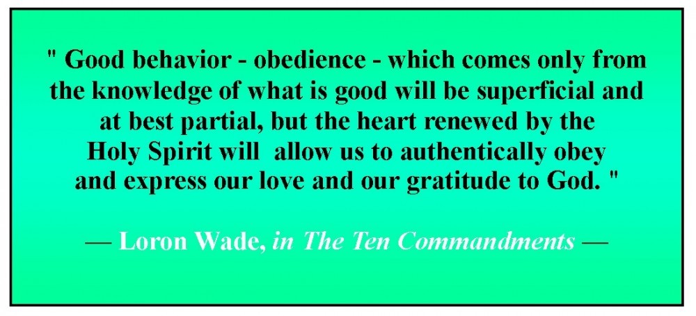 the 10 commandments of god