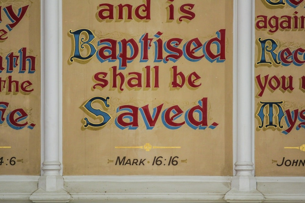 Why it important to be baptized?