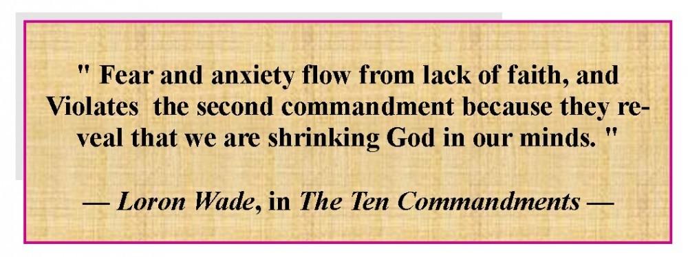 The Second Commandment of God
