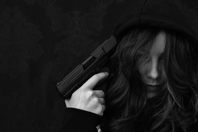 Suicide with firearms
