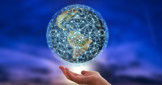 hand-with-globe-networks