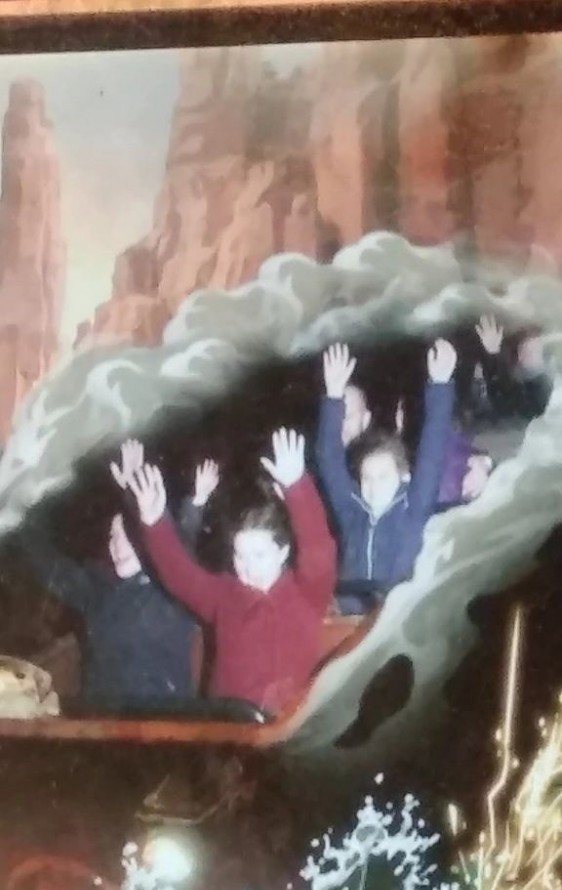 Big Thunder Mountain ride in Disneyland Paris