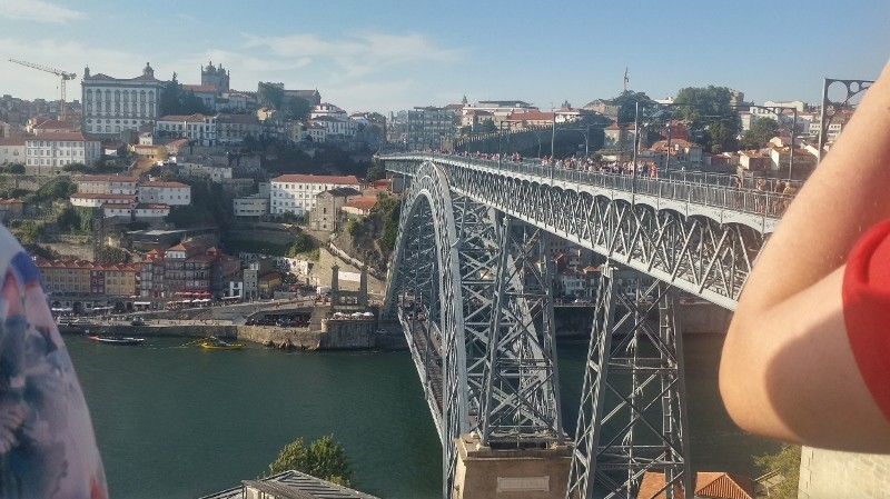 Porto bridge landscape