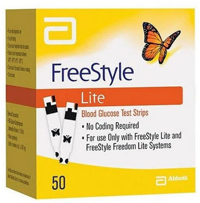 FreeStyle Lite Test Strips 50 ct Review Diabetic Warehouse