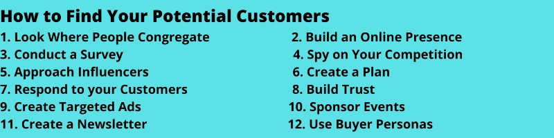 How to find potential customers