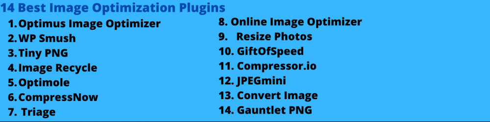 Best Image Optimization Plugins