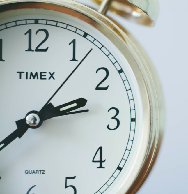 Be conscious of time for posting