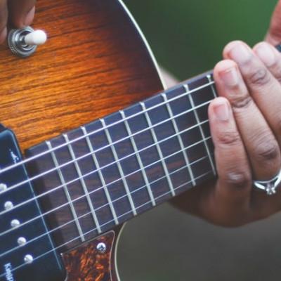 Strumming patterns for guitar