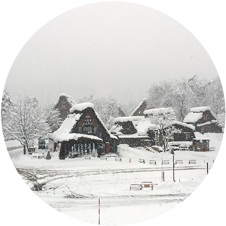 To See Historic Villages of Shirakawa-go and Gokayama in Winter is One of My Reason to Go to Japan.