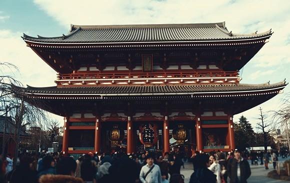 Sensoji in Asakusa, Tokyo