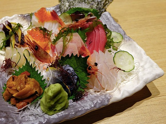 Authentic Sashimi in Japan