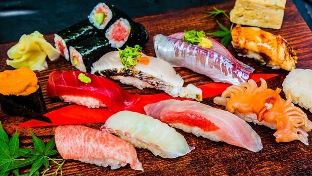 sushi, sushidai
