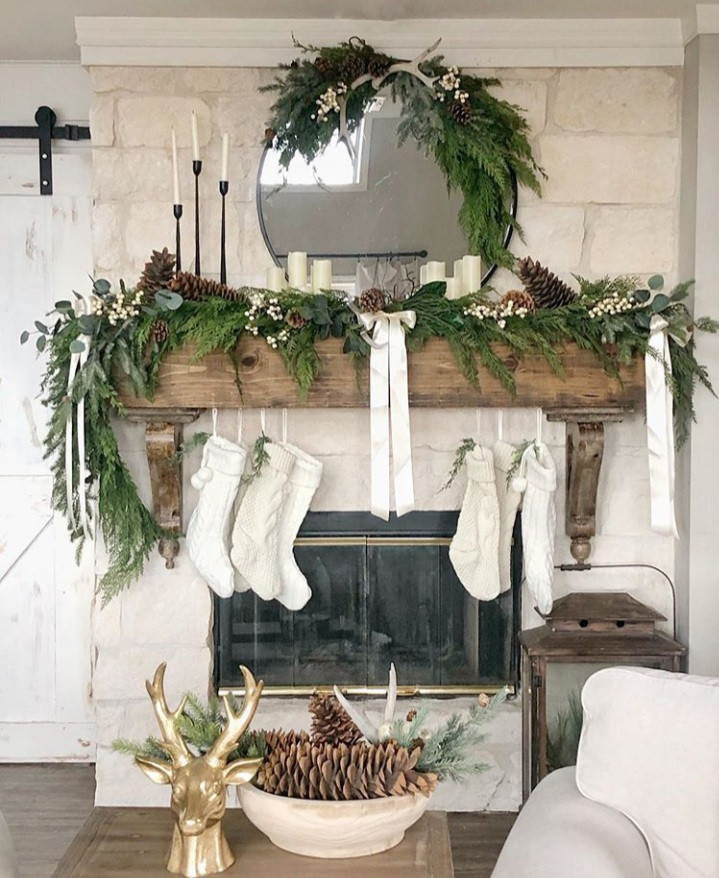 Fresh greenery brings the spirit of Christmas. Whether it's your wreath, garland, or tree, the smell of fresh pine can bring on the holiday cheer and lift your spirits! Find out how you can add greenery to your decor this Christmas.