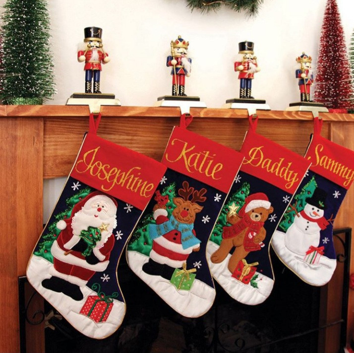 Christmas stockings hung low on your mantel, fireplace, staircases or over your window is one Christmas decorating tradition that is hard to forgo.