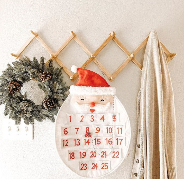 Count down the days 'til Christmas with this festive advent calendar