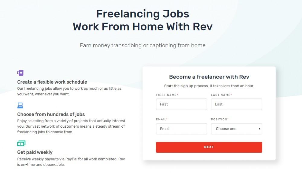 work for rev
